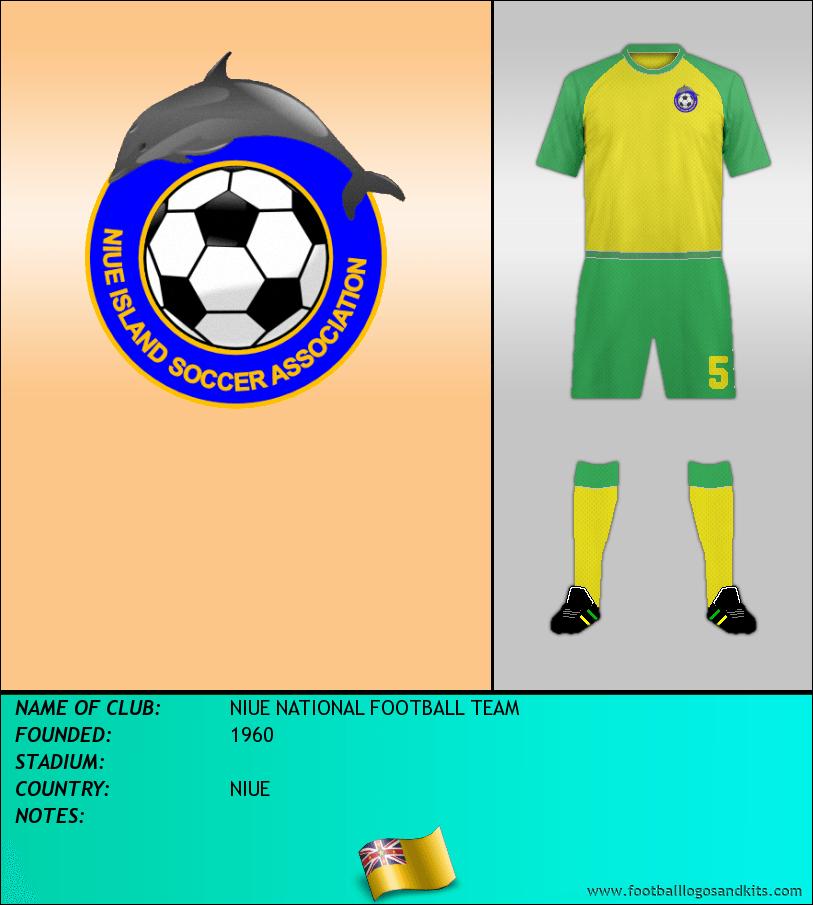 Logo of NIUE NATIONAL FOOTBALL TEAM