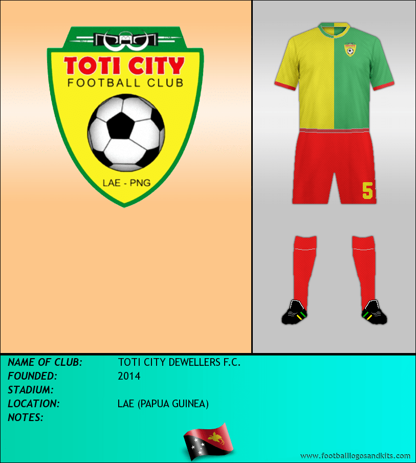 Logo of TOTI CITY DEWELLERS F.C.