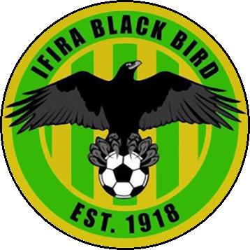标志IFFIRA BLACK BIRD F. C。 (瓦努阿图)