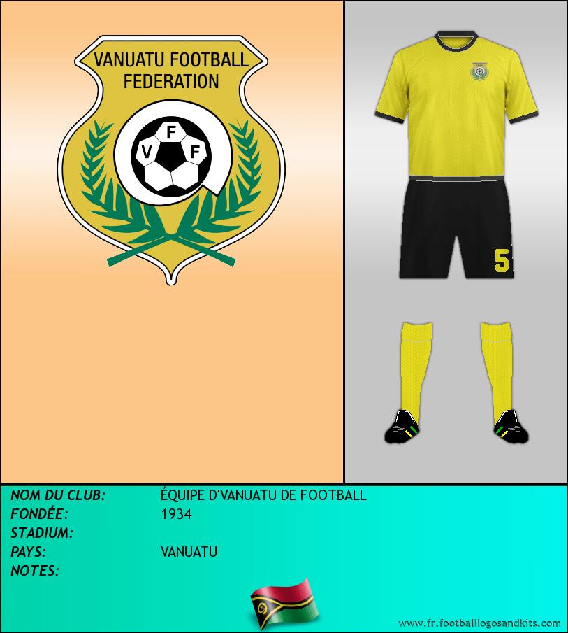 Logo de ÉQUIPE D'VANUATU DE FOOTBALL