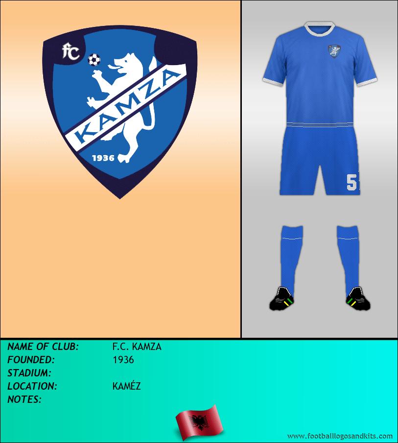 Logo of F.C. KAMZA