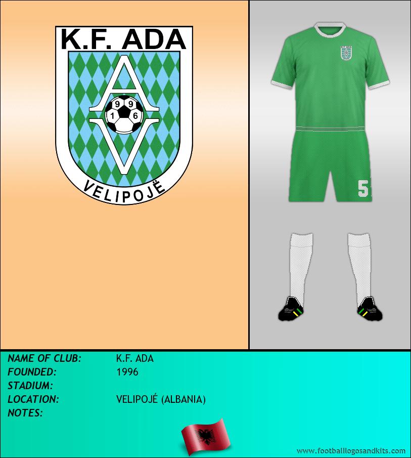 Logo of K.F. ADA