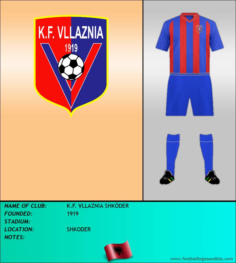 Logo of K.F. VLLAZNIA SHKÖDER