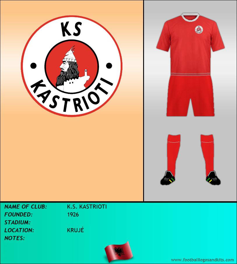 Logo of K.S. KASTRIOTI