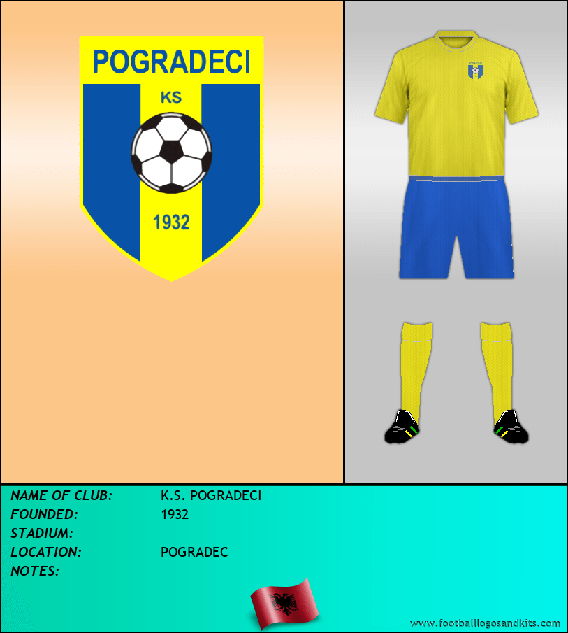 Logo of K.S. POGRADECI