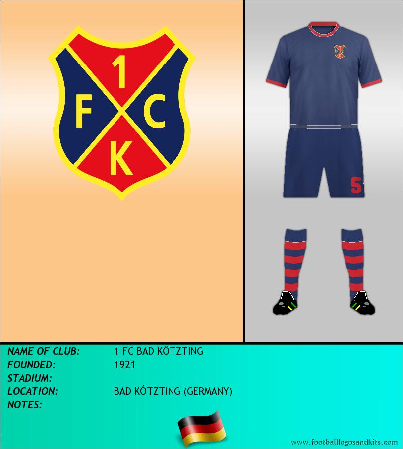 Logo of 1 FC BAD KÖTZTING