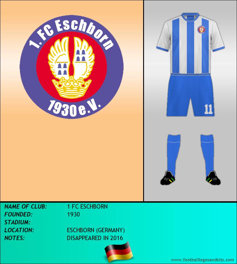 Logo of 1 FC ESCHBORN