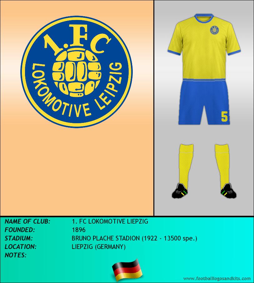 Logo of 1. FC LOKOMOTIVE LIEPZIG