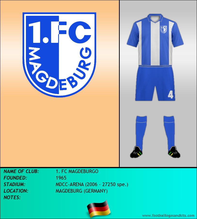 Logo of 1. FC MAGDEBURGO