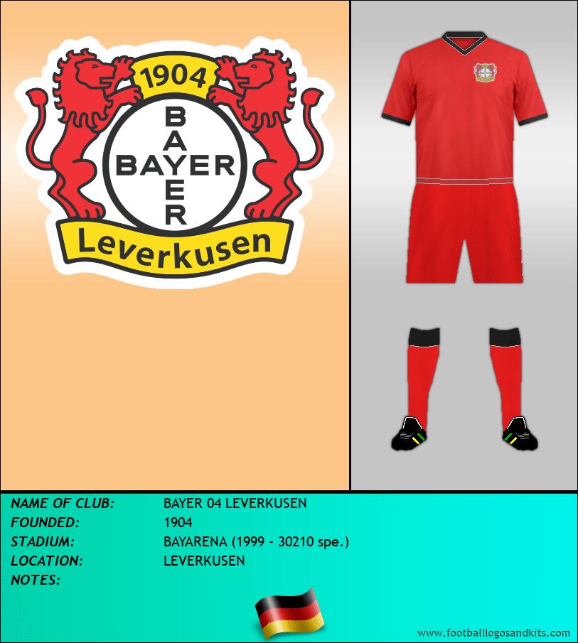 Logo of BAYER 04 LEVERKUSEN