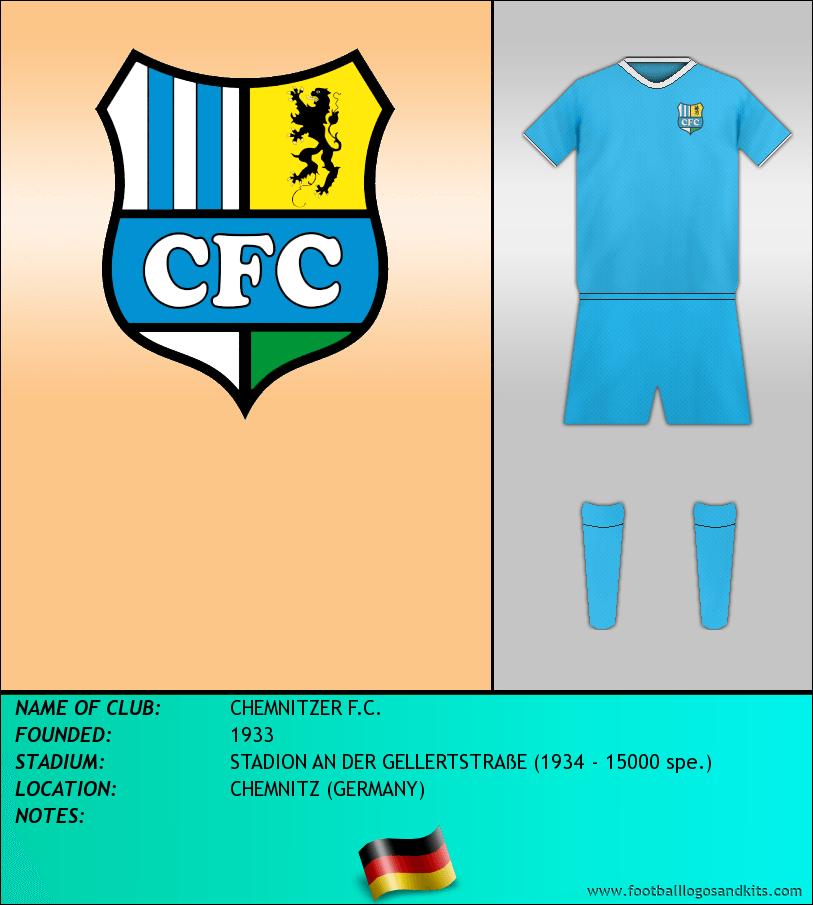 Logo of CHEMNITZER F.C.