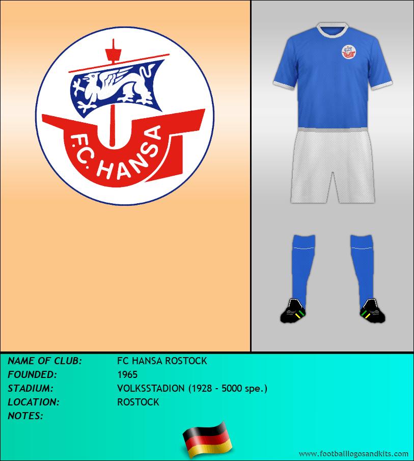 Logo of FC HANSA ROSTOCK
