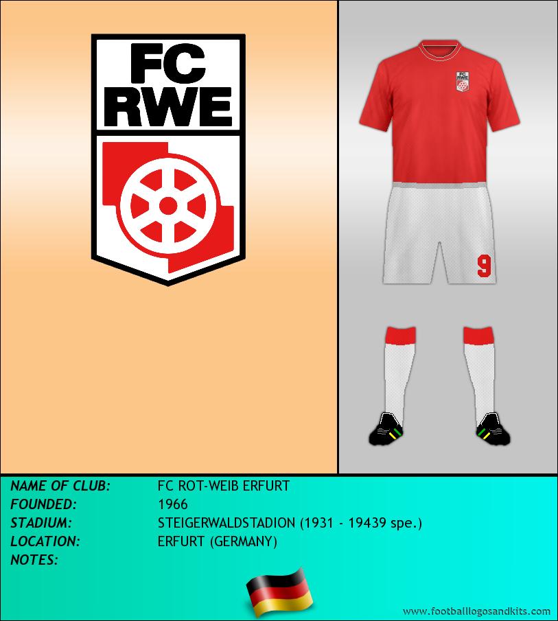 Logo of FC ROT-WEIB ERFURT