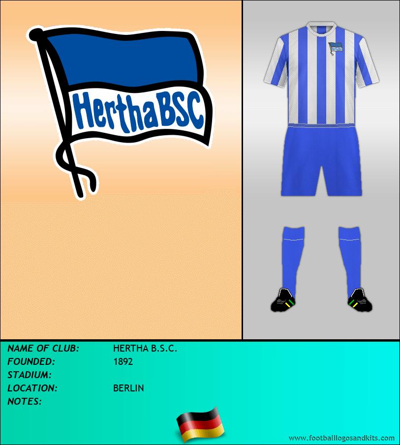 Logo of HERTHA B.S.C.