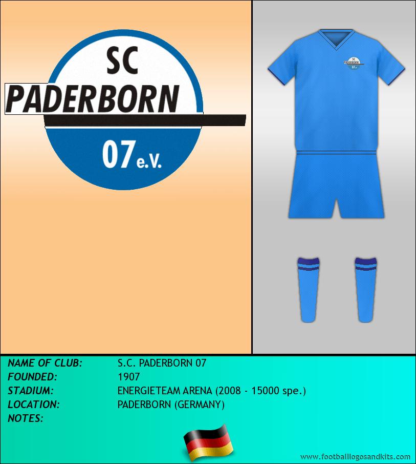 Logo of S.C. PADERBORN 07