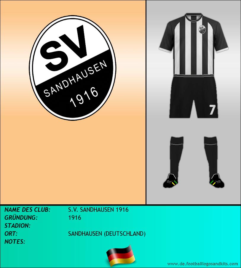 Logo S.V. SANDHAUSEN 1916