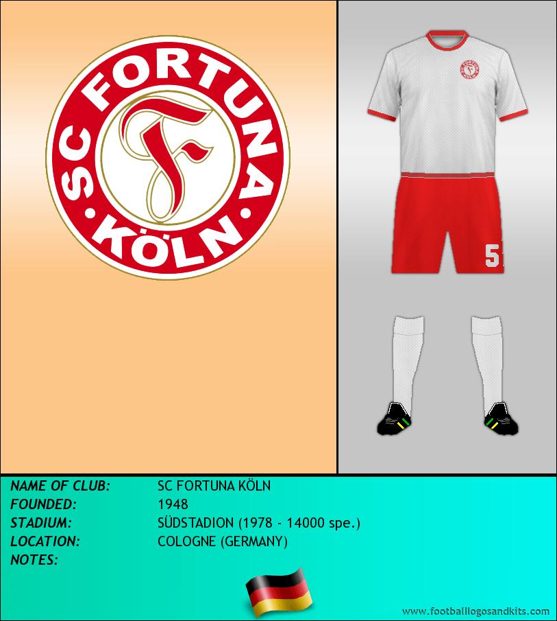 Logo of SC FORTUNA KÖLN