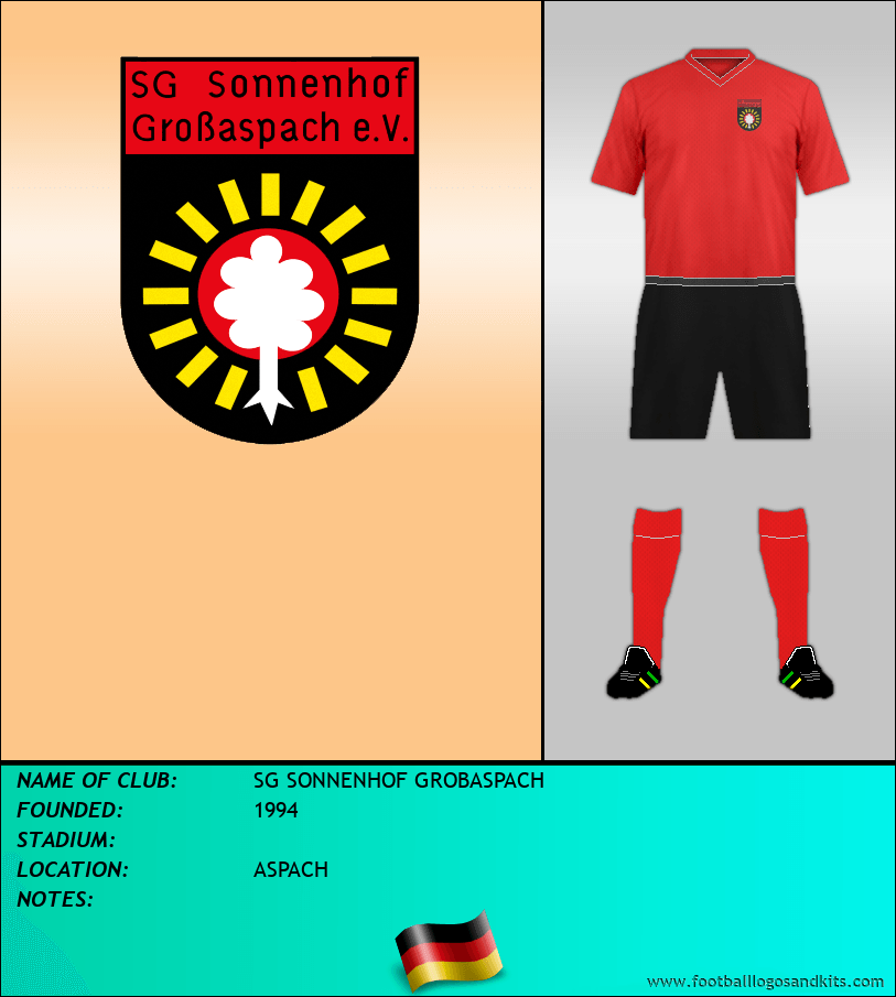 Logo of SG SONNENHOF GROBASPACH