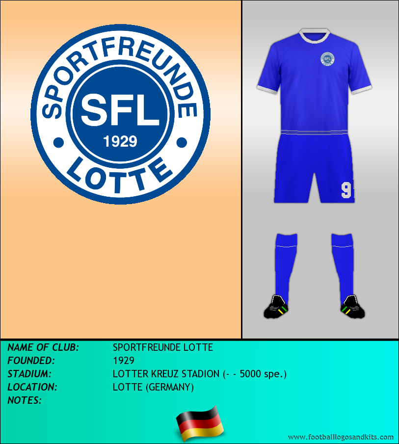 Logo of SPORTFREUNDE LOTTE