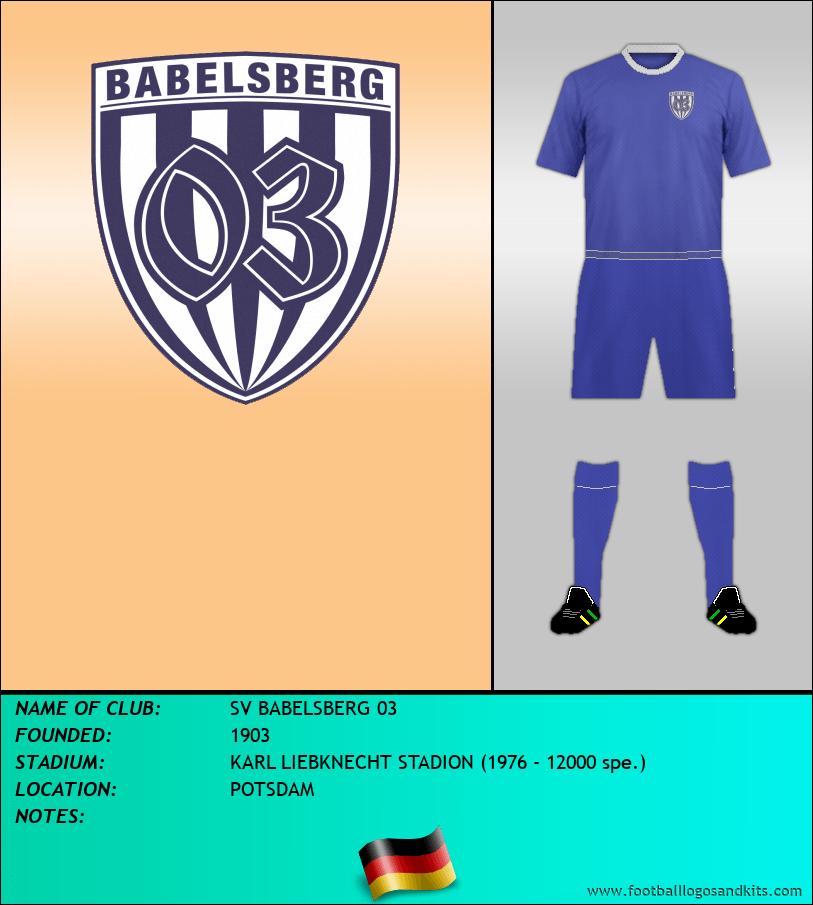 Logo of SV BABELSBERG 03