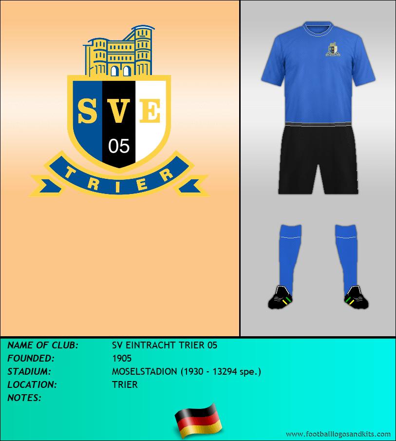 Logo of SV EINTRACHT TRIER 05