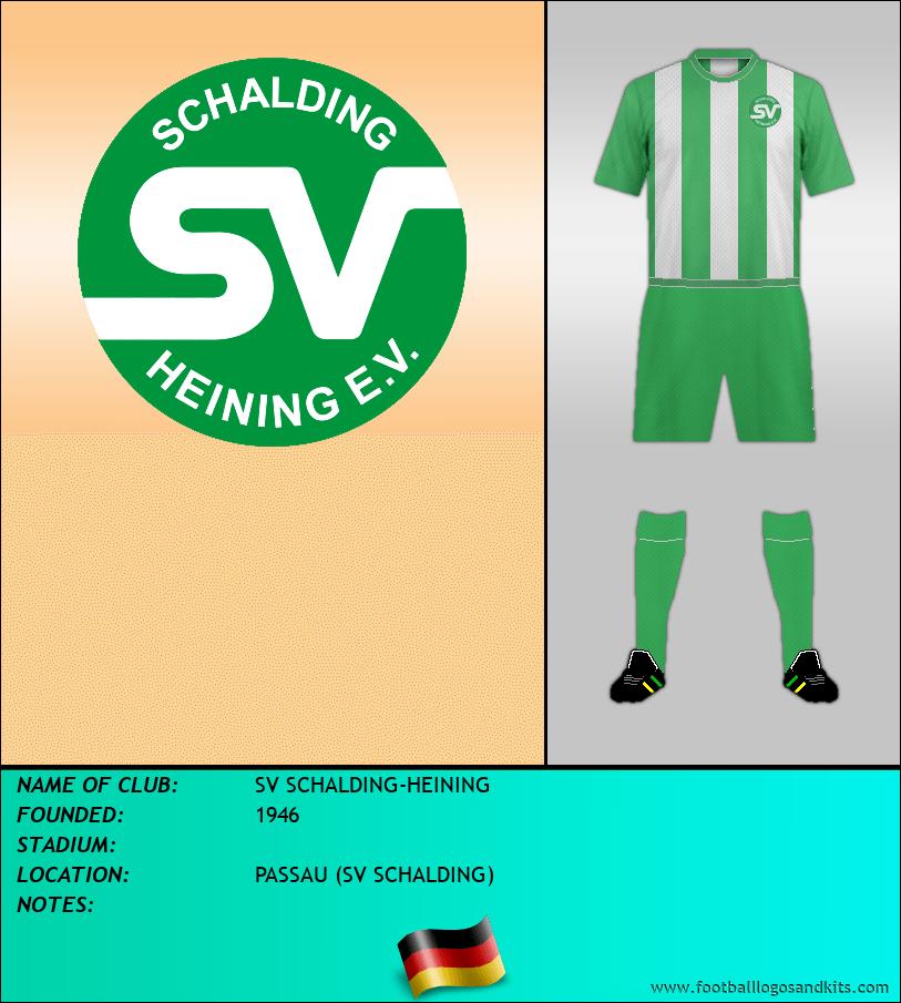 Logo of SV SCHALDING-HEINING