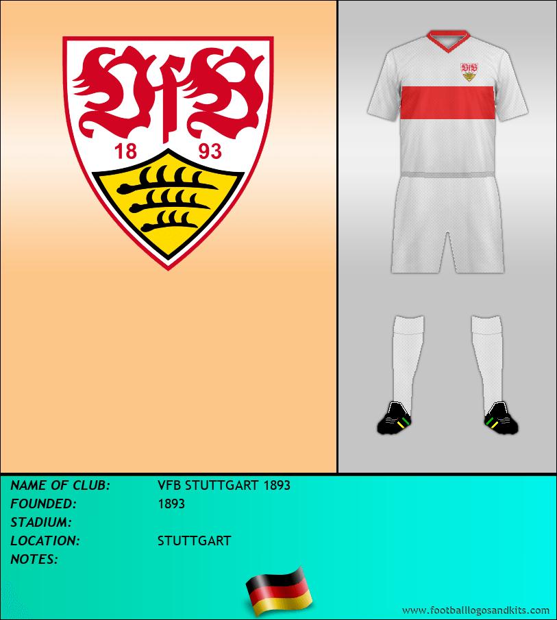 Logo of VFB STUTTGART 1893