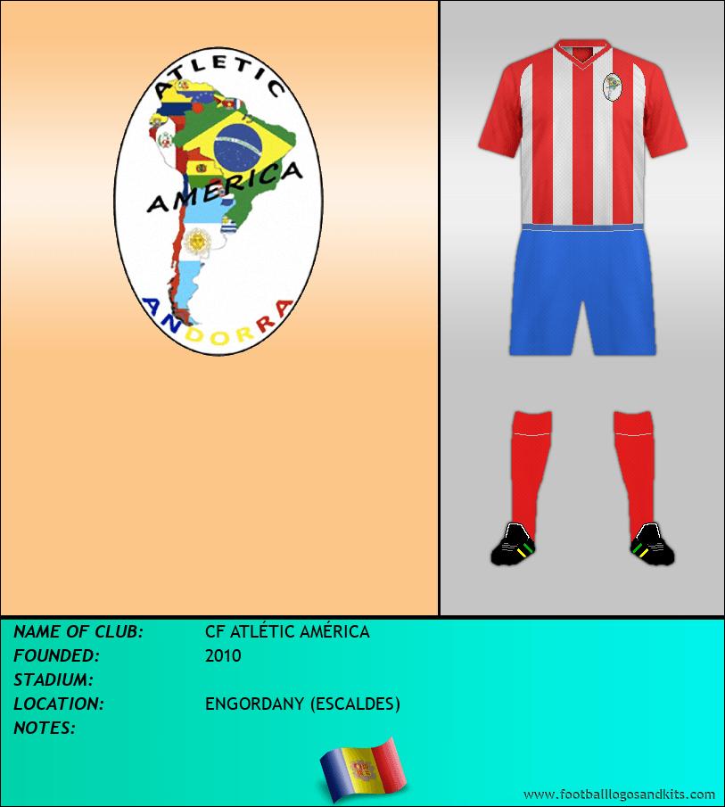 Logo of CF ATLÉTIC AMÉRICA