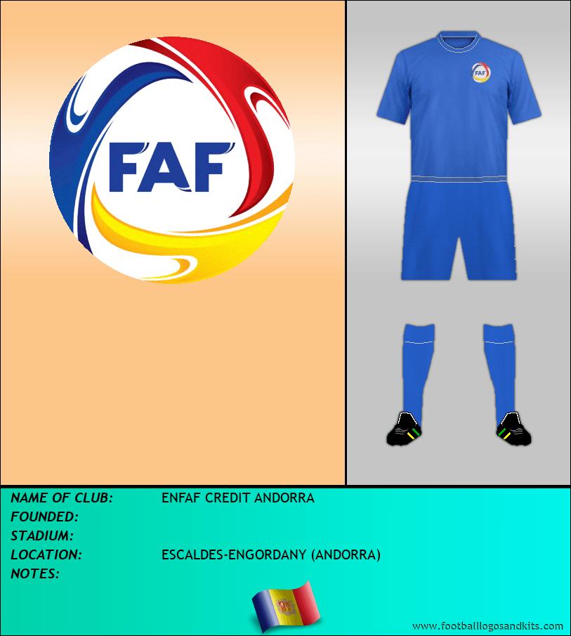 Logo of ENFAF CREDIT ANDORRA