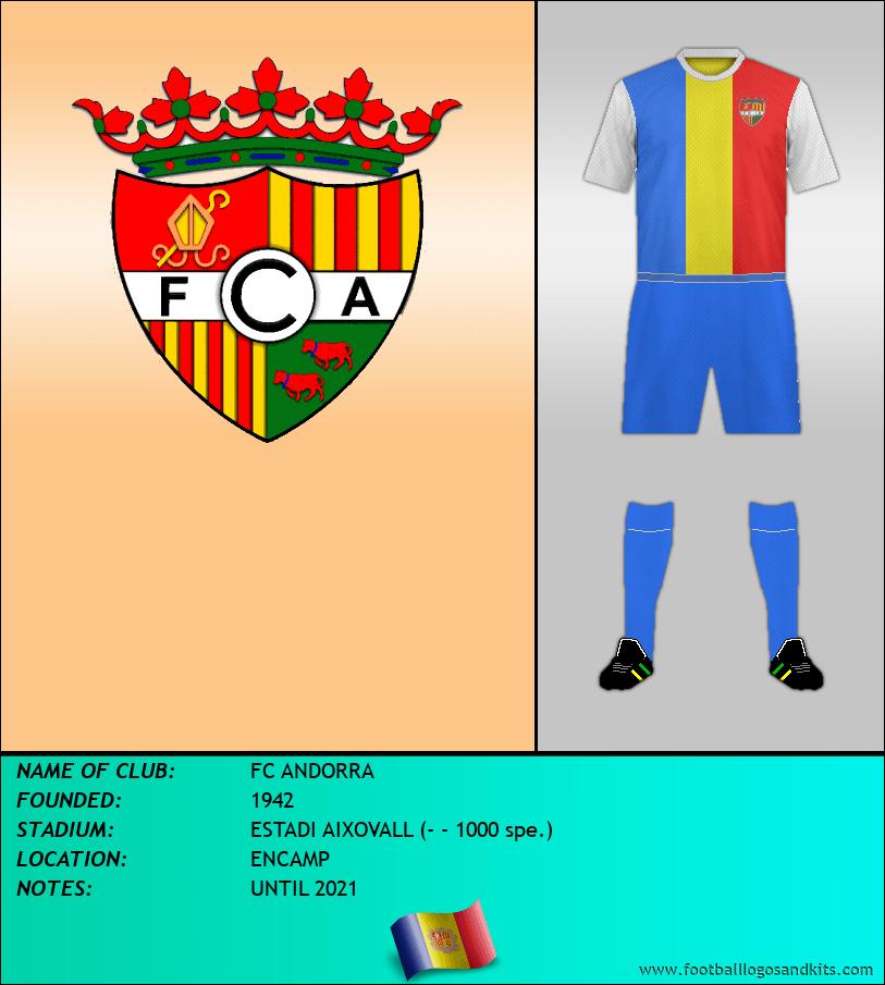 Logo of FC ANDORRA