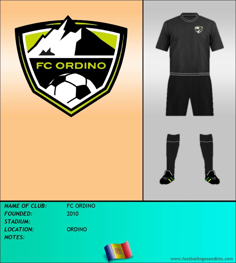 Logo of FC ORDINO