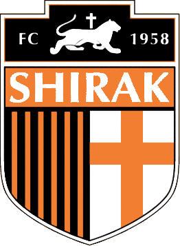 のロゴshirakフットボールクラブ (アルメニア)