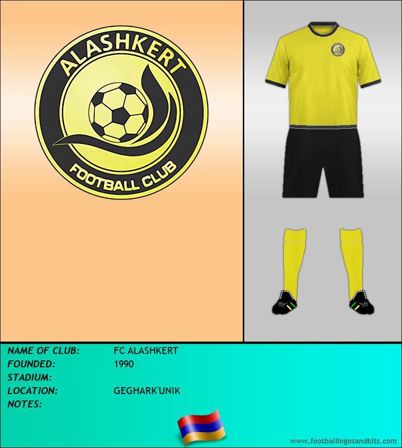 Logo of FC ALASHKERT