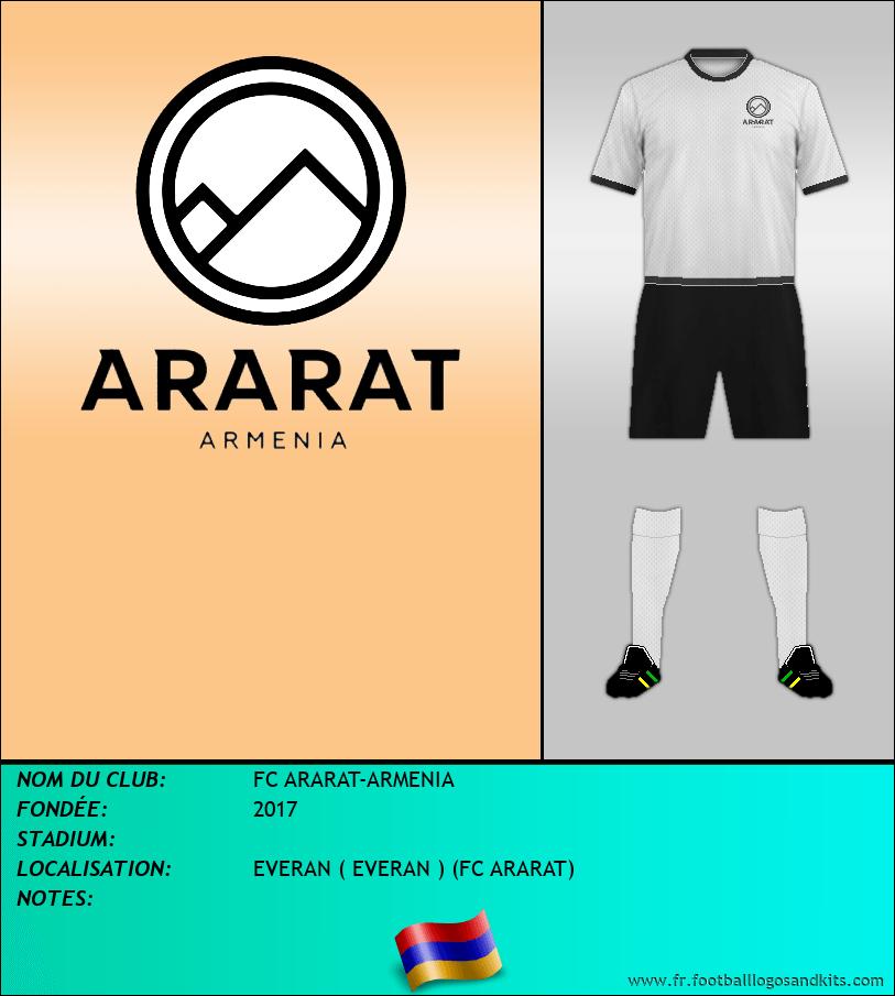 Logo de FC ARARAT-ARMENIA