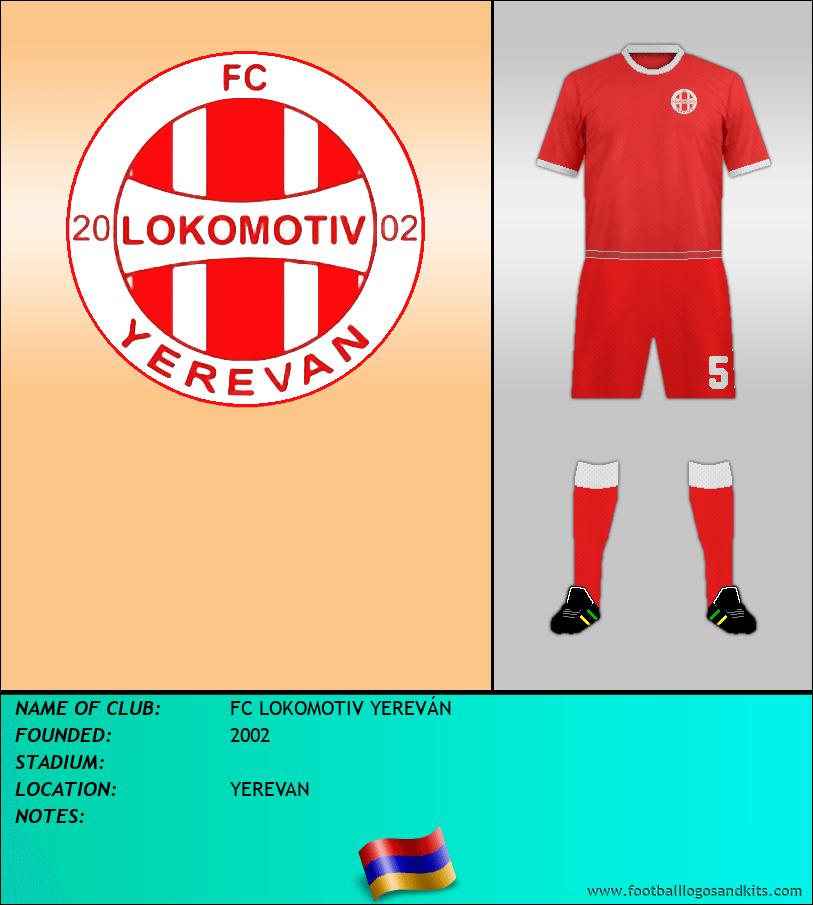 Logo of FC LOKOMOTIV YEREVÁN