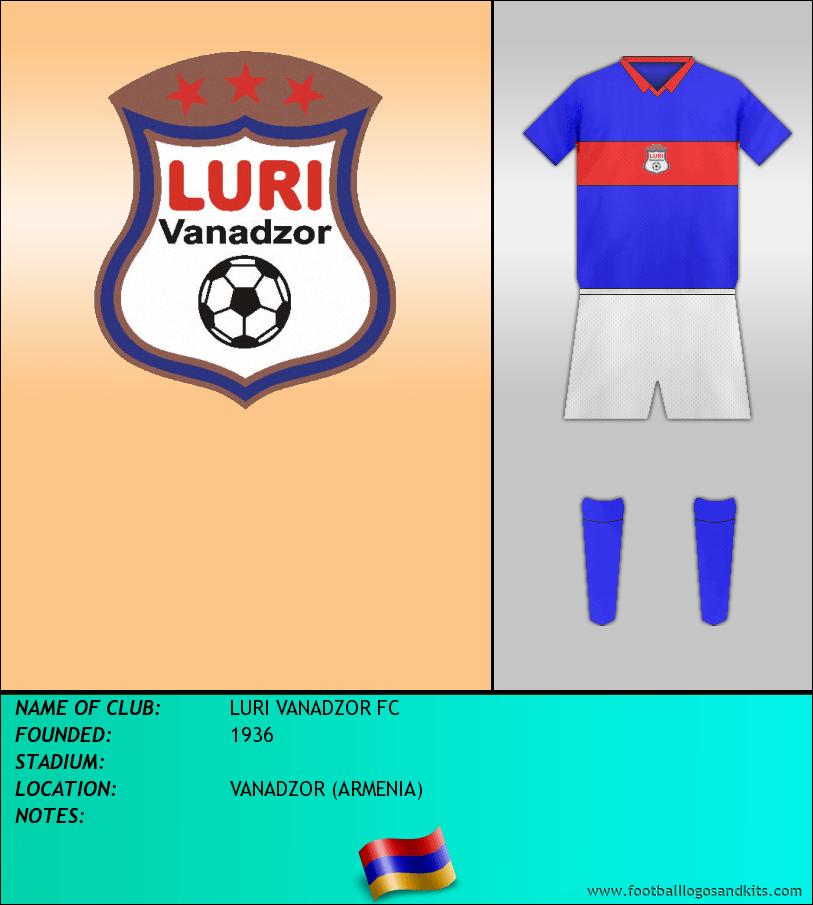 Logo of LURI VANADZOR FC