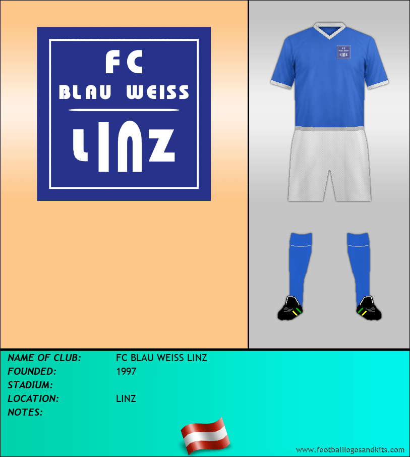 Logo of FC BLAU WEISS LINZ