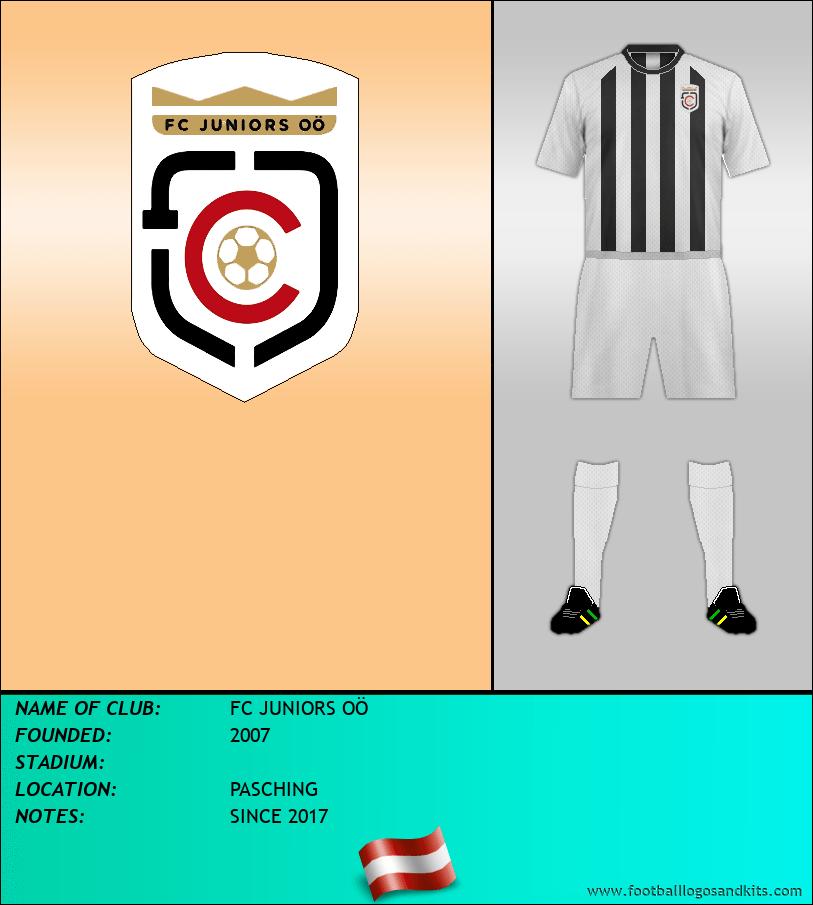 Logo of FC JUNIORS OÖ
