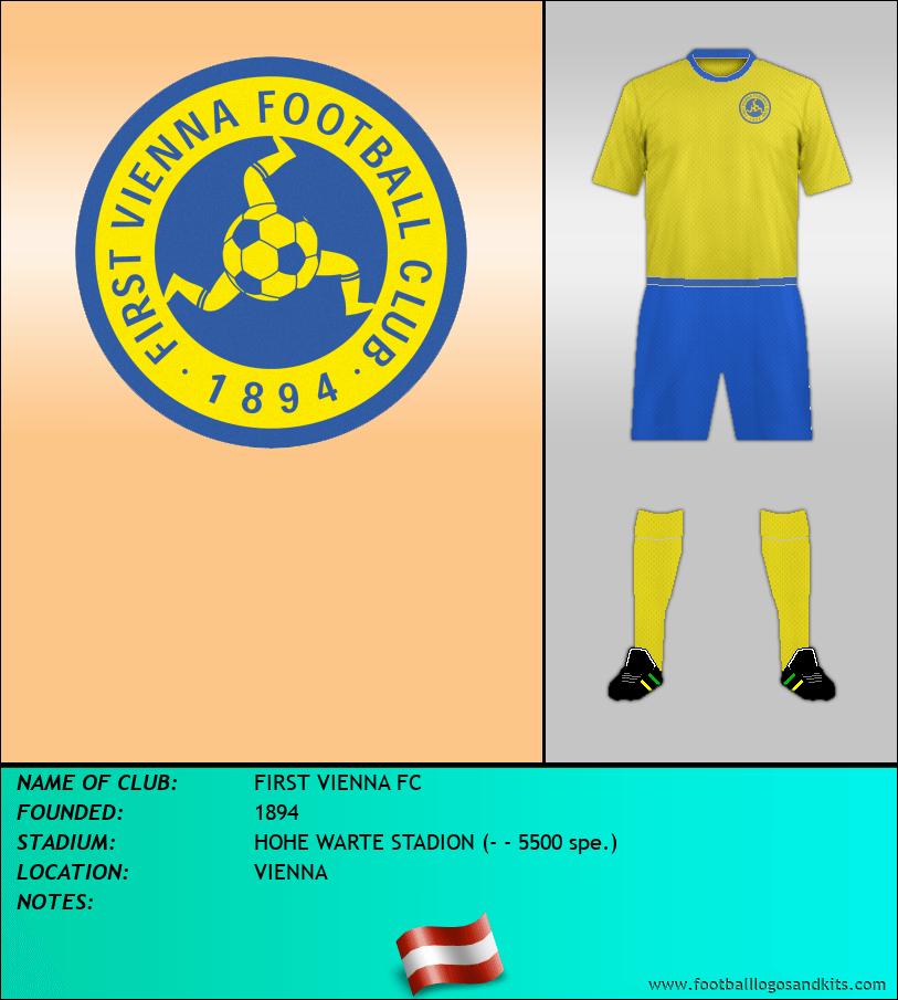 Logo of FIRST VIENNA FC