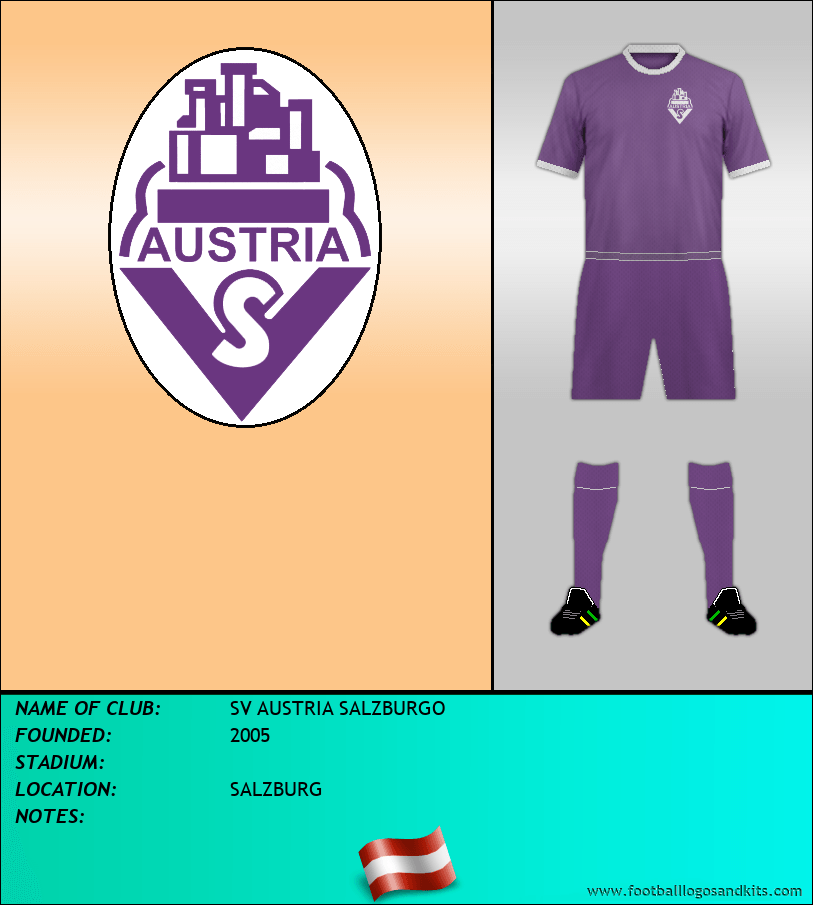 Logo of SV AUSTRIA SALZBURGO