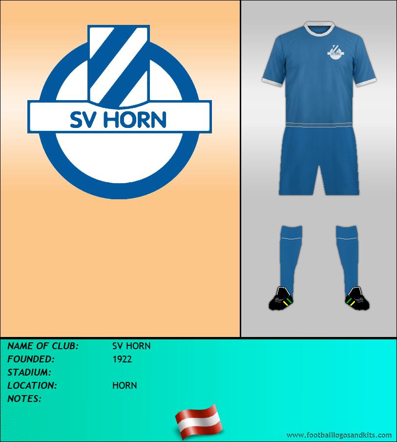 Logo of SV HORN