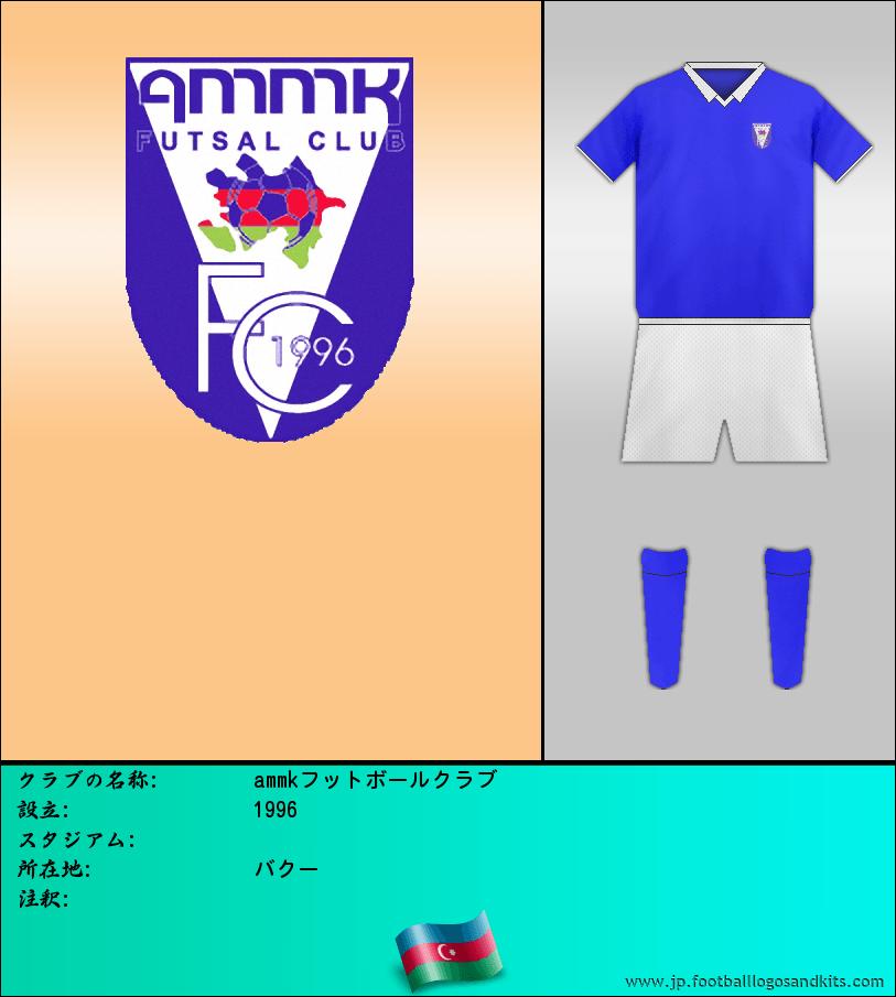 のロゴammkフットボールクラブ