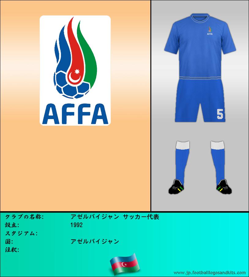 のロゴアゼルバイジャン サッカー代表