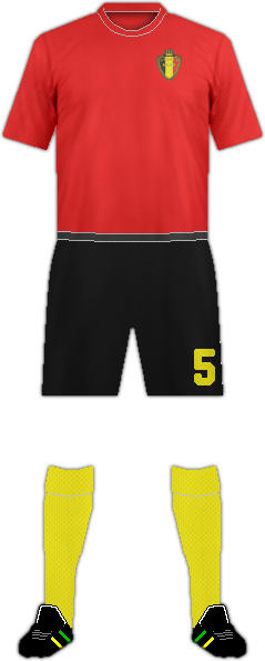 Kit BELGIUM NATIONAL FOOTBALL TEAM
