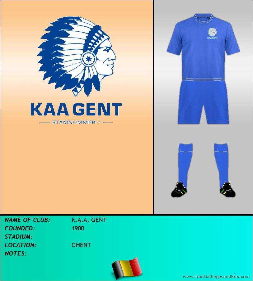 Logo of K.A.A. GENT