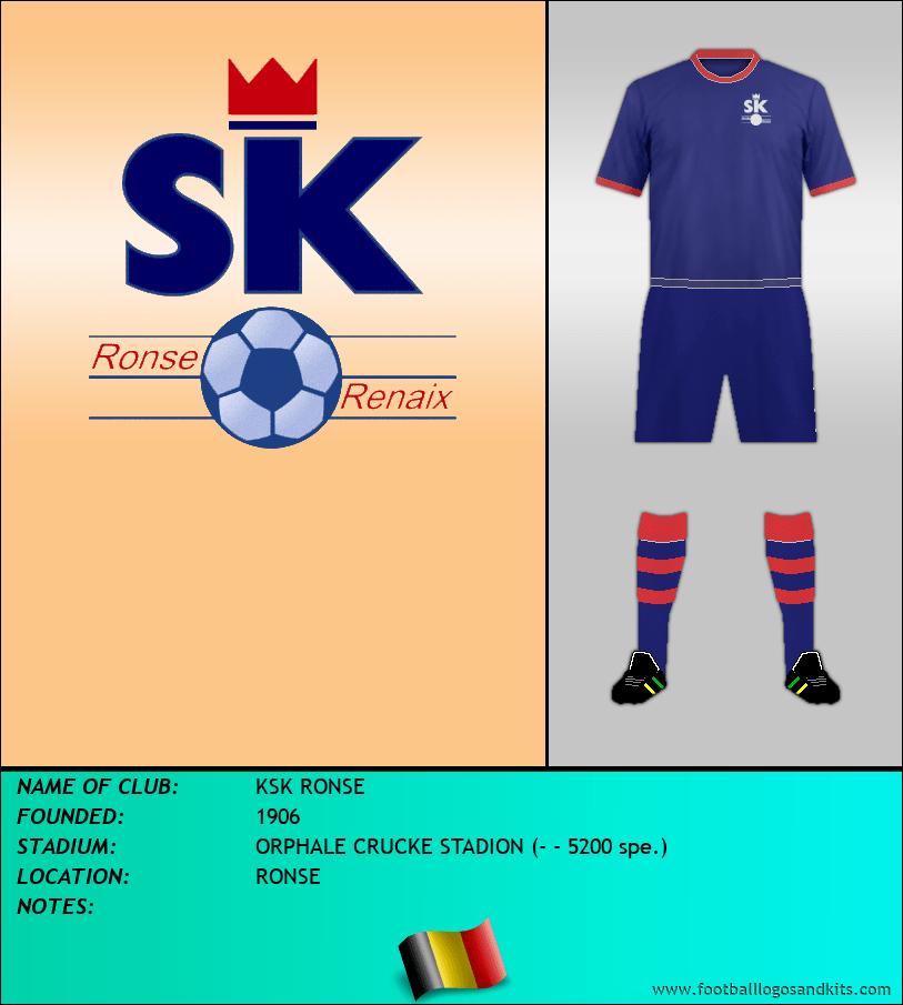 Logo of KSK RONSE