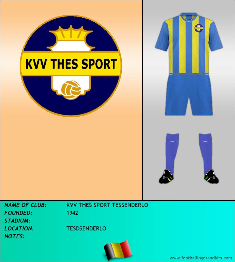 Logo of KVV THES SPORT TESSENDERLO