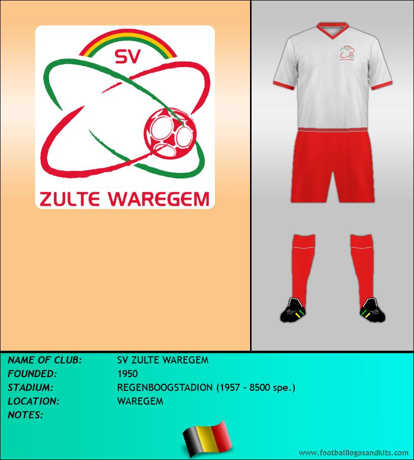 Logo of SV ZULTE WAREGEM