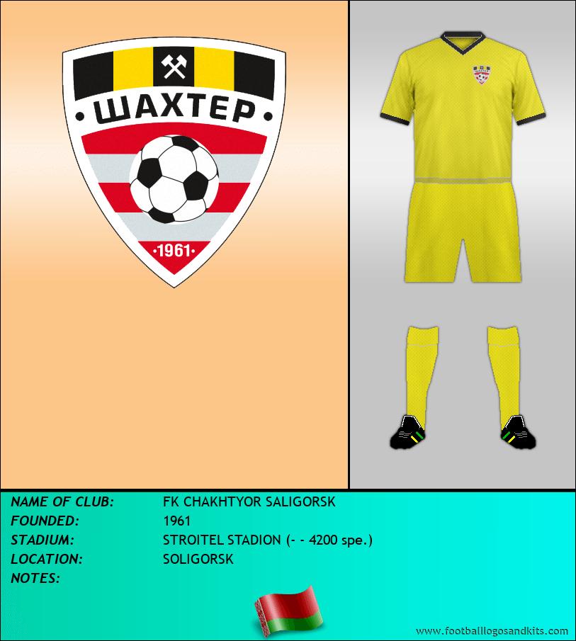 Logo of FK CHAKHTYOR SALIGORSK