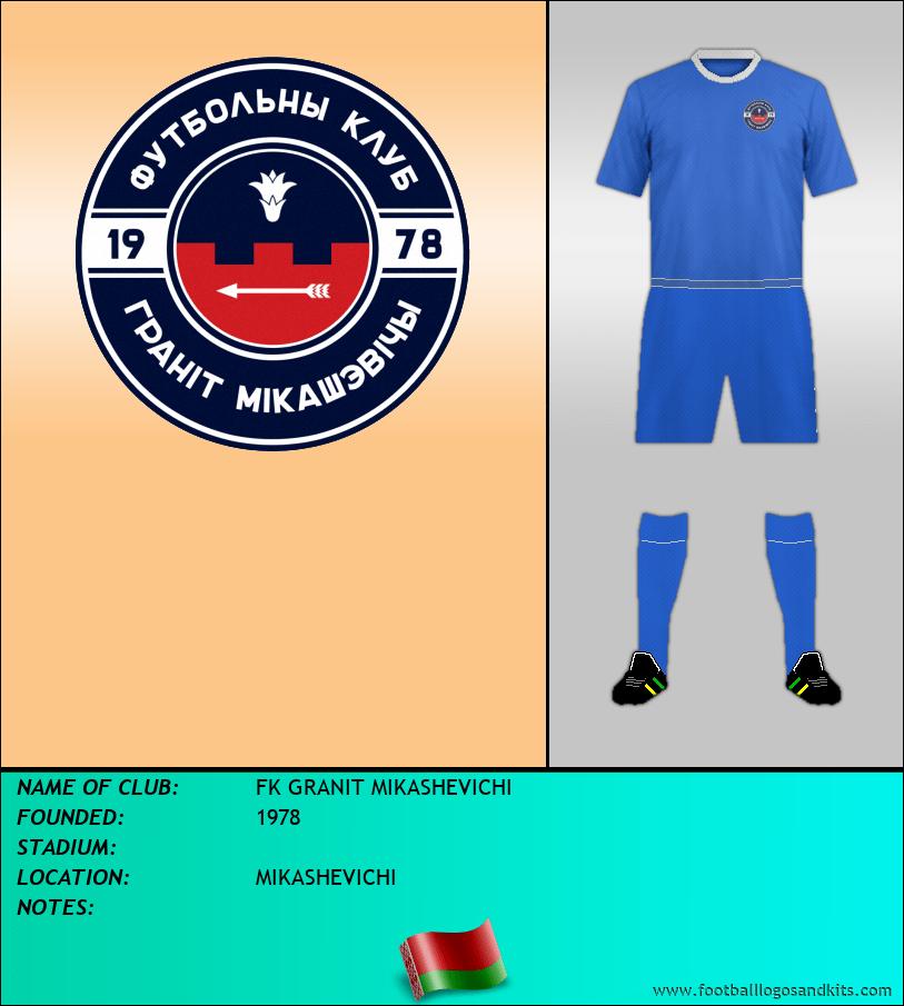 Logo of FK GRANIT MIKASHEVICHI